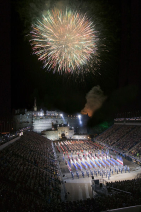 Edinburgh Tattoo firework display (photo: Graeme Main)